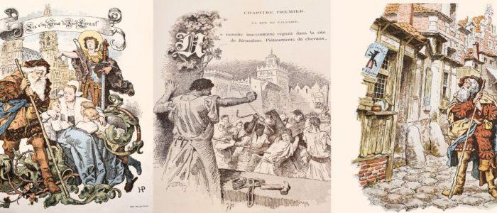 היהודי הנודד מספר ילדים צרפתי 1883