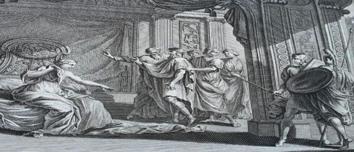יוסף ואשת פוטיפר, סוכני שינוי, תחריט תנך מורטייר 1700